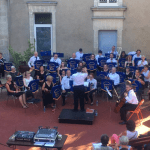 Robert conducts the Phoenix Concert Orchestra on tour in Vendée, France